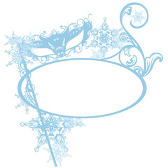 invitation to winter carnival party