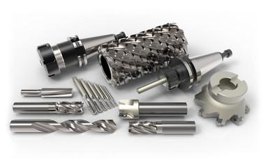 CNC Fräser Metall Zusammenstellung