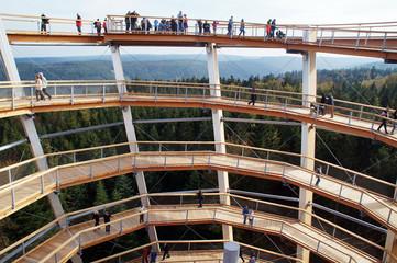 Aussichtsturm des Baumwipfelfades Bad Wildbad