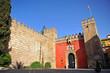 Alcázar de Sevilla, Puerta del León, España