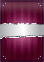 Creative purple background