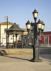 City Park in Mardakan. Azerbaijan