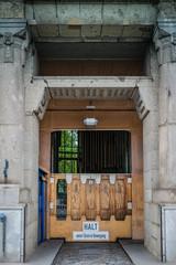Einfahrt Aufzuganlage Alter Elbtunnel Hamburg