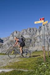 Mountainbiken in den Urner Alpen