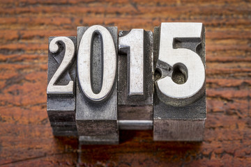 2015  - New Year concept