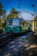 Zahnradbahn Siebengebirge Drachenfels Rhein