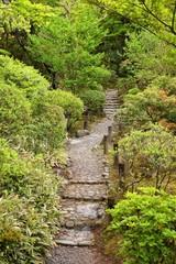Japanese garden in Nara - Yoshikien