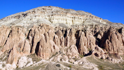 Llimestones in Cappadocia, Turkey