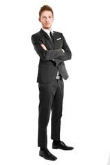 Full length businessman