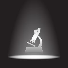 microscope vector icon