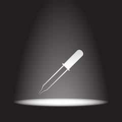 pipette vector icon