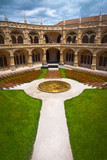 Jeronimos Monastery Cloister center vertical - 73325055