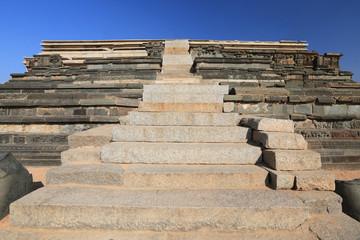 watchtower at the Cacred Center of Vijayanagara at Hampi, a city