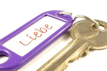 Schlüssel zur Liebe