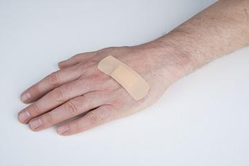 cerotto sulla mano