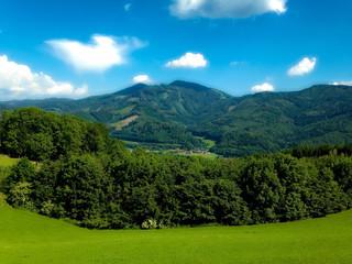 Landschaft über Leoben