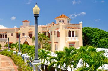 Castillo Serralles Mansion at Ponce Puerto Rico