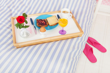 Breakfast on bed