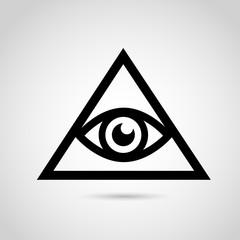 Illuminati VECTOR sign.