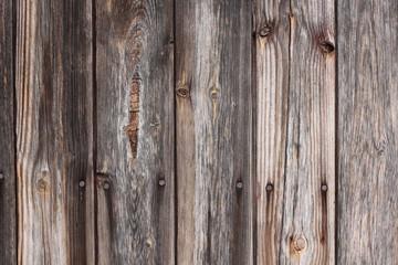 Ausgeblichene Holzbretter