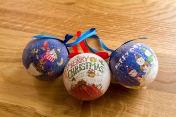 Merry Christmas balls