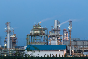 oil heavy industrial, plant