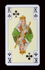 Spielkarten der Ladys - Kreuz Königin