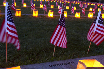 Luminary for the Unknown at Gettysburg