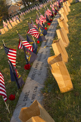 Rememberances at Soldiers Cemetery in Gettysburg