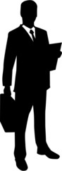 Lawyer Business Man Silhouette