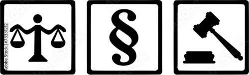 Justice Symbols - 73331212