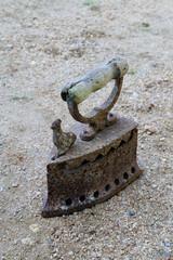 Antique iron