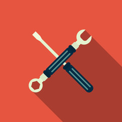 spanner & screwdriver icon