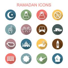 ramadan long shadow icons