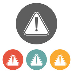 attention sign icon
