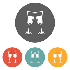 champagne glass icon