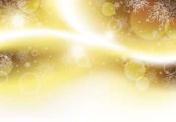 光 雪の結晶 背景