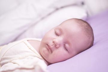 sleeping babygirl