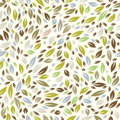 Color Leaf Pattern