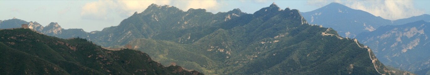 Landschaften bei Jinshanling in China