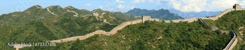 canvas print picture Die Chinesische Mauer bei Jinshanling