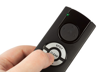 Remote control for vacuum cleaner