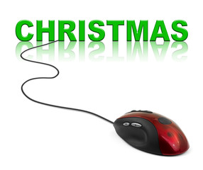 Computer mouse and Christmas