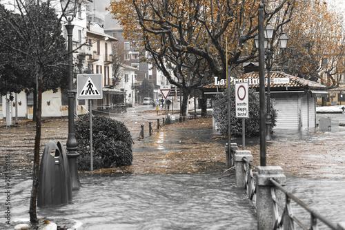 Lake Maggiore overflow in Laveno-Mombello, Varese - 73338881
