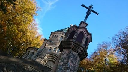 Votivkirche berg Starnberger see