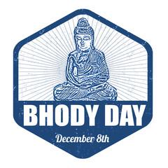 Bhodi day stamp