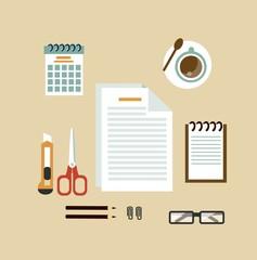 Secretary Desk illustration