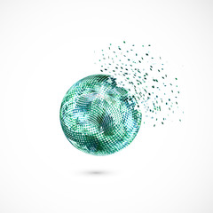 Sphere explosion.