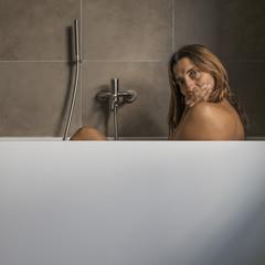 sorpresa in doccia
