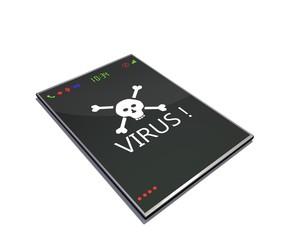 Slimme telefoon besmet met virus